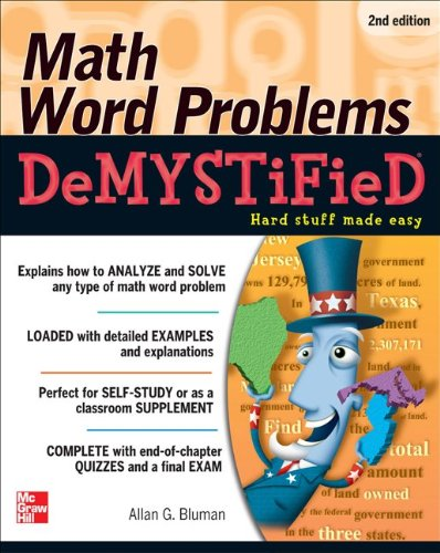 Math Word Problems  2nd 2012 edition cover