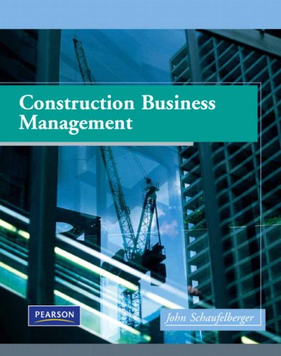 Construction Business Management   2009 edition cover