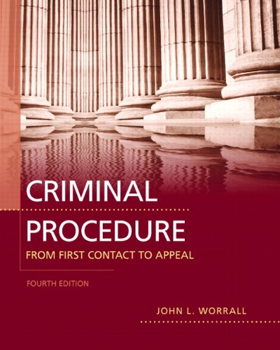Criminal Procedure From First Contact to Appeal 4th 2012 (Revised) edition cover