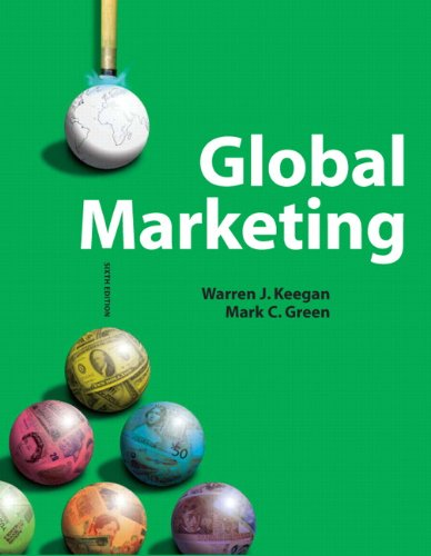 Global Marketing  6th 2011 edition cover