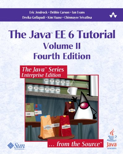 Java EE 6 Tutorial  4th 2013 edition cover