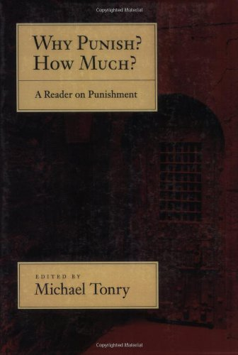 Why Punish? How Much? A Reader on Punishment  2010 edition cover