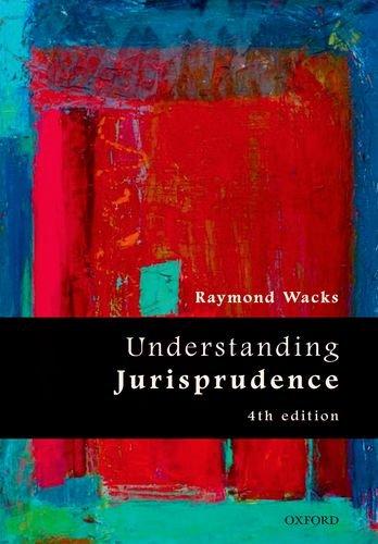 Understanding Jurisprudence  4th 2015 edition cover