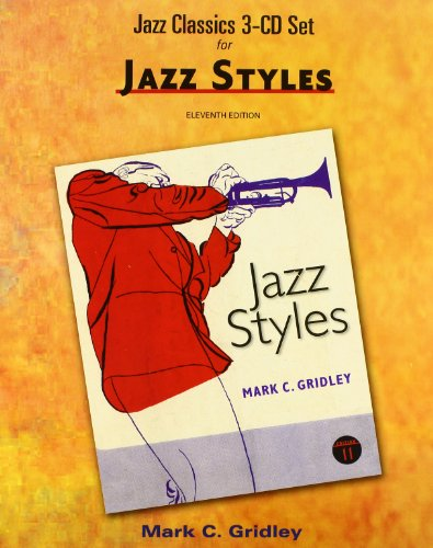 Jazz Classics CD Set (3 CD's) for Jazz Styles  11th 2012 edition cover