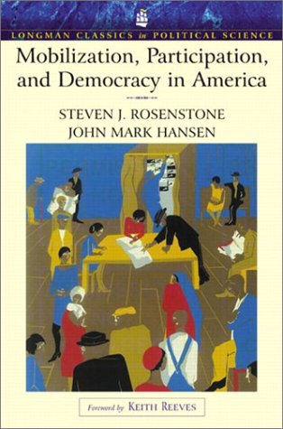 Mobilization, Participation and Democracy in America   2003 edition cover
