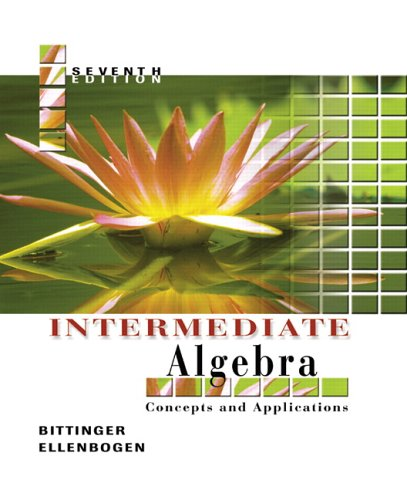 Intermediate Algebra Concepts and Applications 7th 2006 (Revised) edition cover