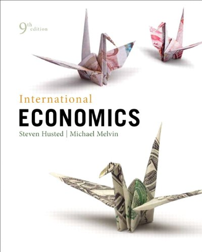 International Economics  9th 2013 (Revised) 9780321783868 Front Cover
