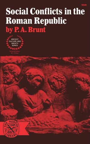 Social Conflicts in the Roman Republic Reprint edition cover