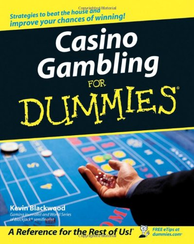 Casino Gambling for Dummies  2nd 2006 (Revised) edition cover