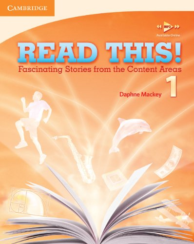 Read This!, Level 1 Fascinating Stories from the Content Areas  2010 (Student Manual, Study Guide, etc.) 9780521747868 Front Cover