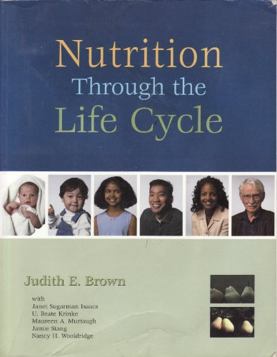 Nutrition Through the Life Cycle   2002 edition cover