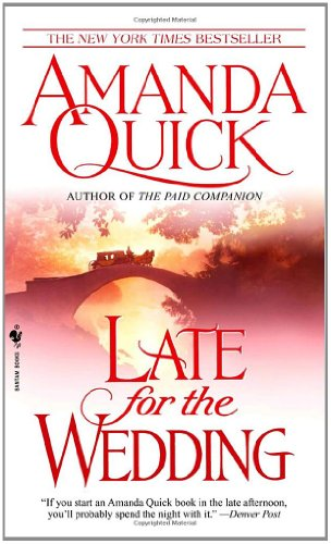 Late for the Wedding   2003 9780553584868 Front Cover
