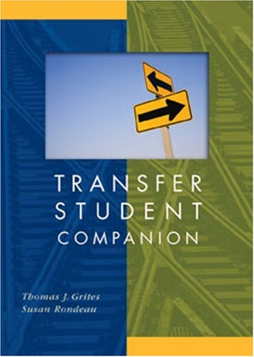 Transfer Student Companion   2009 edition cover