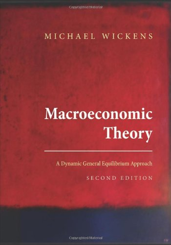 Macroeconomic Theory A Dynamic General Equilibrium Approach 2nd 2012 (Revised) edition cover