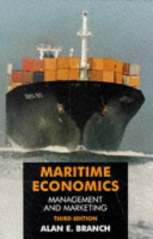 Maritime Economics Management and Marketing 2nd 1998 (Revised) 9780748739868 Front Cover