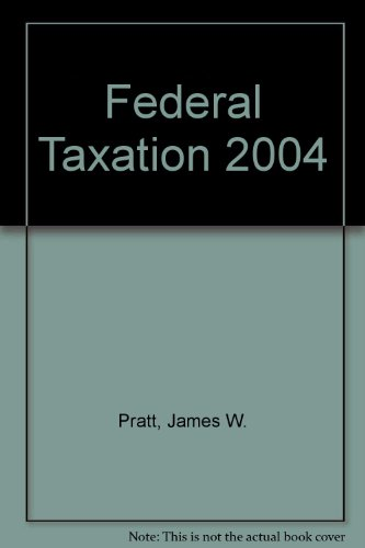 To Accompany Federal Taxation 1st 2007 (Student Manual, Study Guide, etc.) 9780759364868 Front Cover