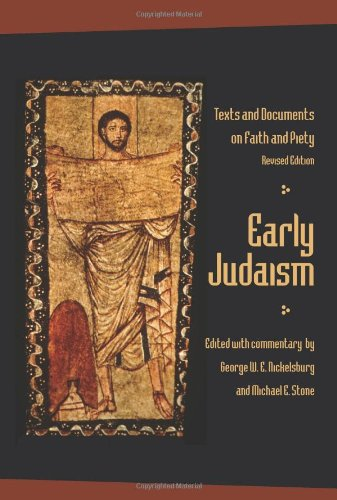 Early Judaism Text and Documents on Faith and Piety  2009 (Revised) edition cover