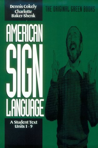 American Sign Language  Student Manual, Study Guide, etc. edition cover