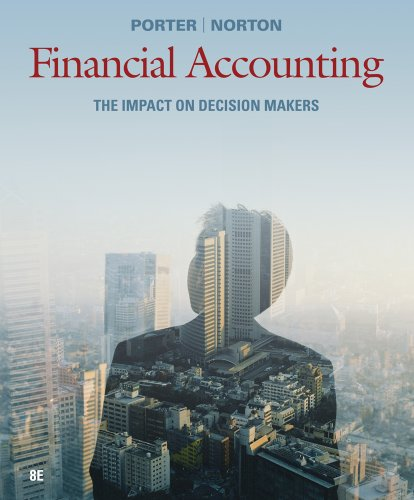 Financial Accounting The Impact on Decision Makers 8th 2013 9781111534868 Front Cover