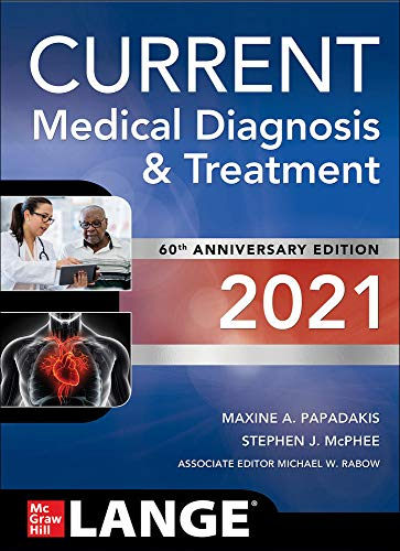 Cover art for CURRENT Medical Diagnosis and Treatment 2021, 60th Edition