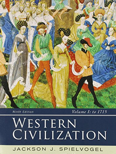 Western Civilization Volume I: To 1715 9th 2015 9781305658868 Front Cover