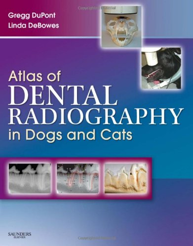 Atlas of Dental Radiography in Dogs and Cats   2009 edition cover