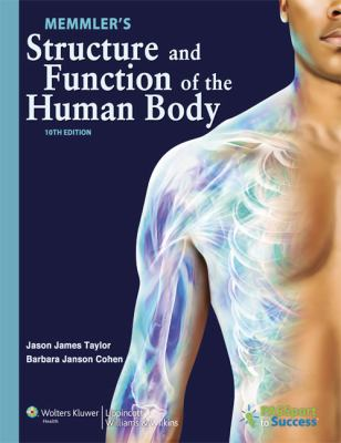 Memmler's Structure and Function of the Human Body 10th Edition Text and Study Guide Package  10th 2012 edition cover