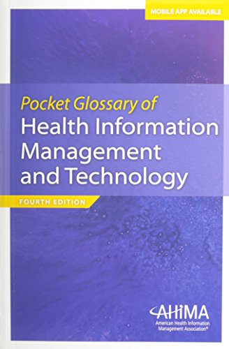Pocket Glossary of Health Information Management and Technology, Fourth Edition   2014 edition cover