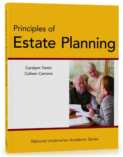 Principles of Estate Planning:   2012 9781936362868 Front Cover