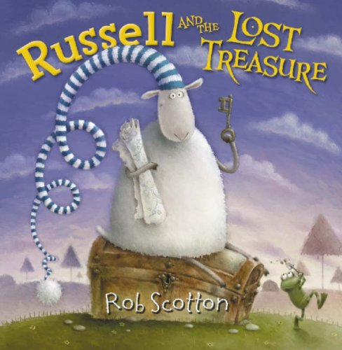 Russell and the Lost Treasure   2006 edition cover