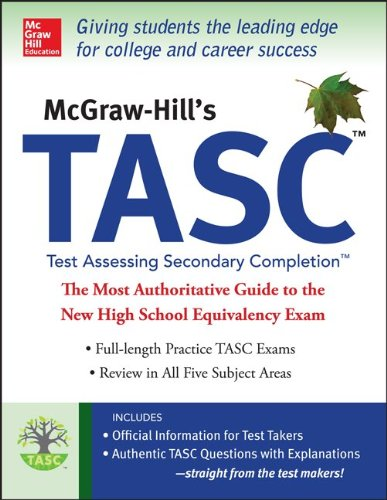 McGraw-Hill's TASC - Test Accessing Secondary Completion   2014 edition cover