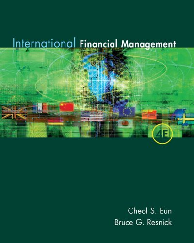 International Financial Management  4th 2007 (Revised) 9780072996869 Front Cover