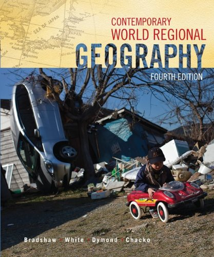 Contemporary World Regional Geography  4th 2012 edition cover