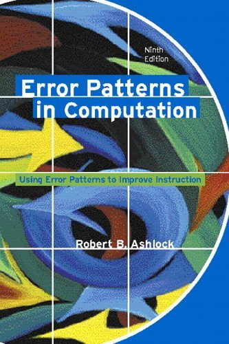 Error Patterns in Computation  9th 2006 (Revised) edition cover