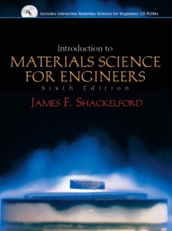 Introduction to Materials Science for Engineers  6th 2005 edition cover