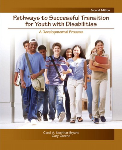 Pathways to Successful Transition for Youth with Disabilities A Developmental Process 2nd 2009 edition cover