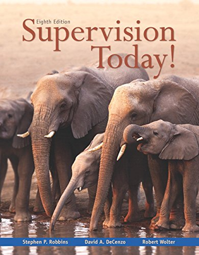 Supervision Today!  8th 2016 9780133884869 Front Cover