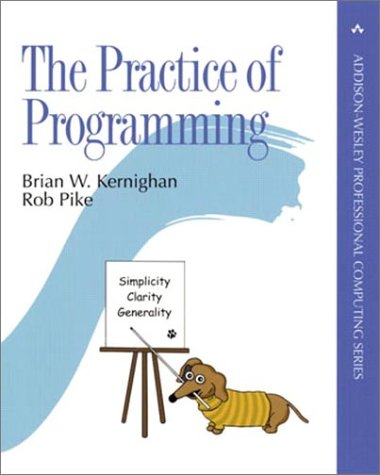 Practice of Programming   1999 edition cover