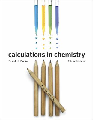 Calculations in Chemistry An Introduction  2013 edition cover
