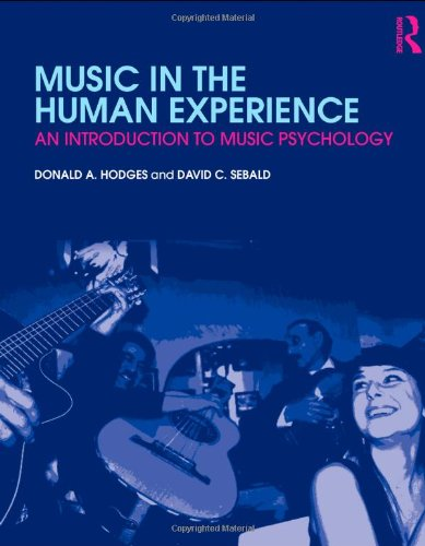 Music in the Human Experience An Introduction to Music Psychology  2011 edition cover