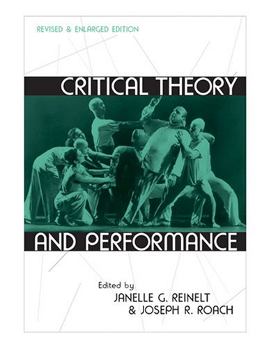 Critical Theory and Performance   2006 edition cover
