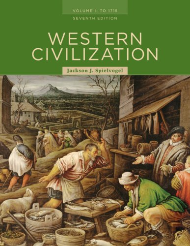 Western Civilization To 1715 7th 2009 edition cover