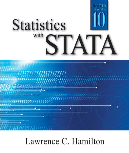 Statistics with Stata  7th 2009 edition cover