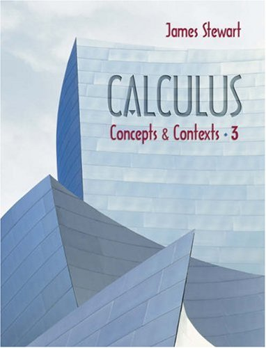 Calculus Concepts and Contexts 3rd 2005 edition cover
