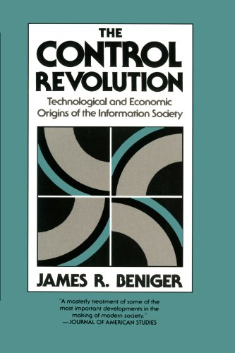 Control Revolution Technological and Economic Origins of the Information Society  1986 (Reprint) edition cover