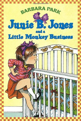 Junie B. Jones and a Little Monkey Business   1993 edition cover