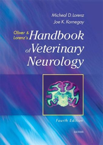 Handbook of Veterinary Neurology  4th 2004 (Revised) 9780721689869 Front Cover