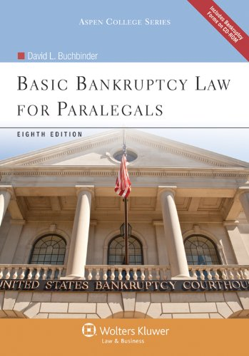 Basic Bankruptcy Law for Paralegals  8th 2011 (Revised) edition cover