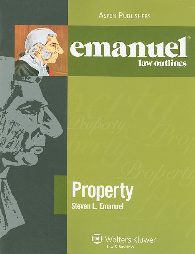 Property 2009  Student Manual, Study Guide, etc. edition cover