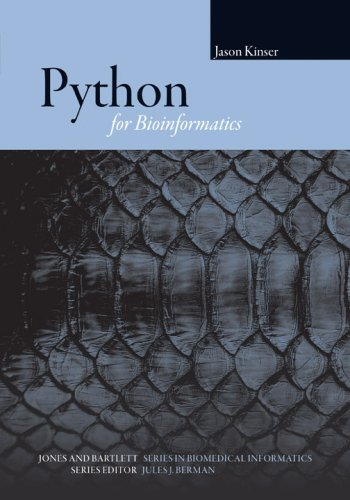 Python for Bioinformatics   2009 edition cover